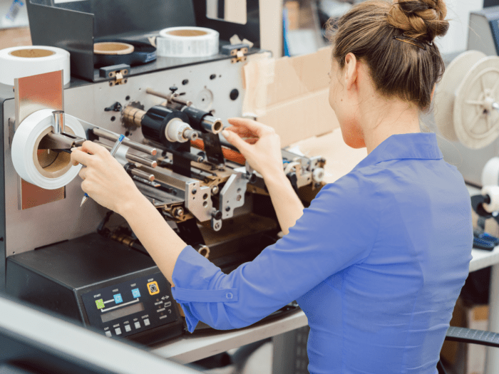 Apparel care labelling with Thermal Transfer Printer and Ribbon