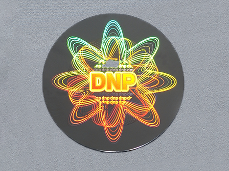DNP Embossed hologram