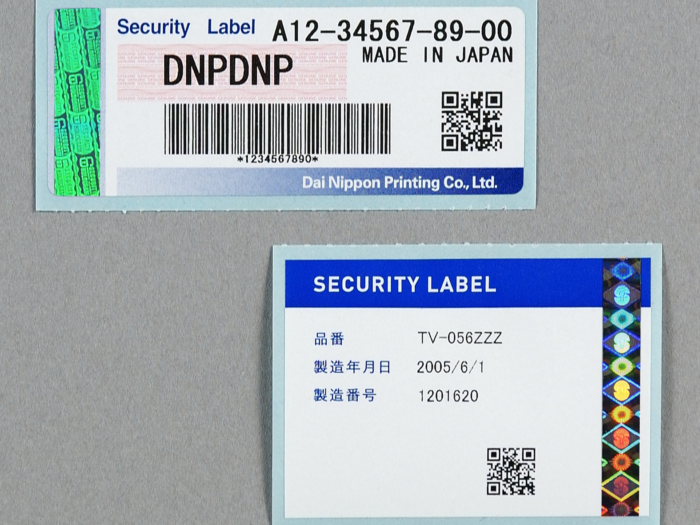 DNP hologram labels, and overlaminates for document and product security