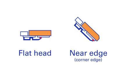 Flat-Head vs Near-Edge-Thermotransferband – Die Unterschiede