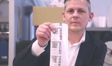 Thermal Transfer Troubleshooting 101 – Unprinted diagonal lines on barcodes and other data